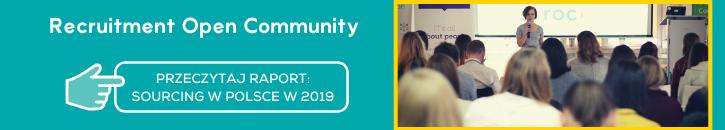Recruitment Open Community. Raport: stan sourcingu w Polsce 2019