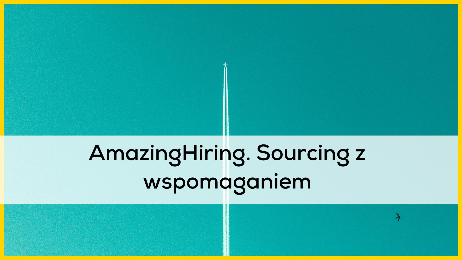 AmazingHiring sourcing tool