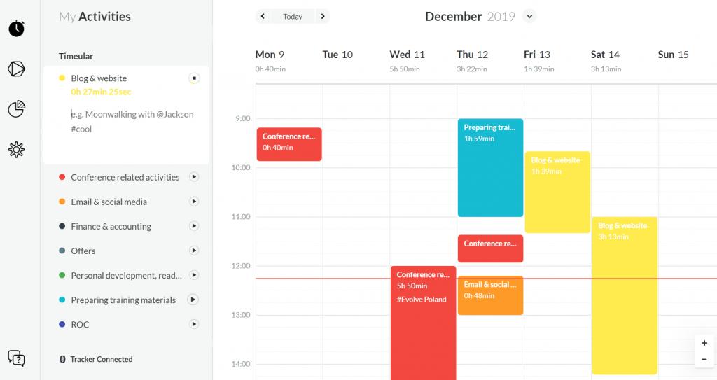 timeular jak zapanować nad czasem, organizacja pracy, zarządzanie czasem